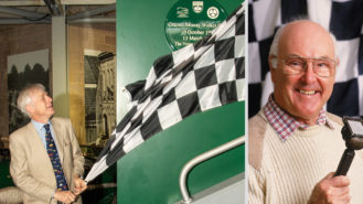 Murray Walker remembered at the National Motor Museum