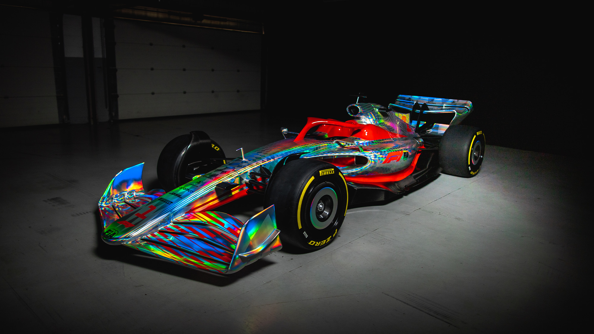 F1 2022 car 1-1 model ftq view