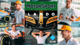 Behind the shoot: our Lando Norris cover