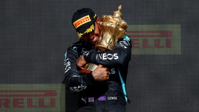 Lewis Hamilton's record eight British Grand Prix victories