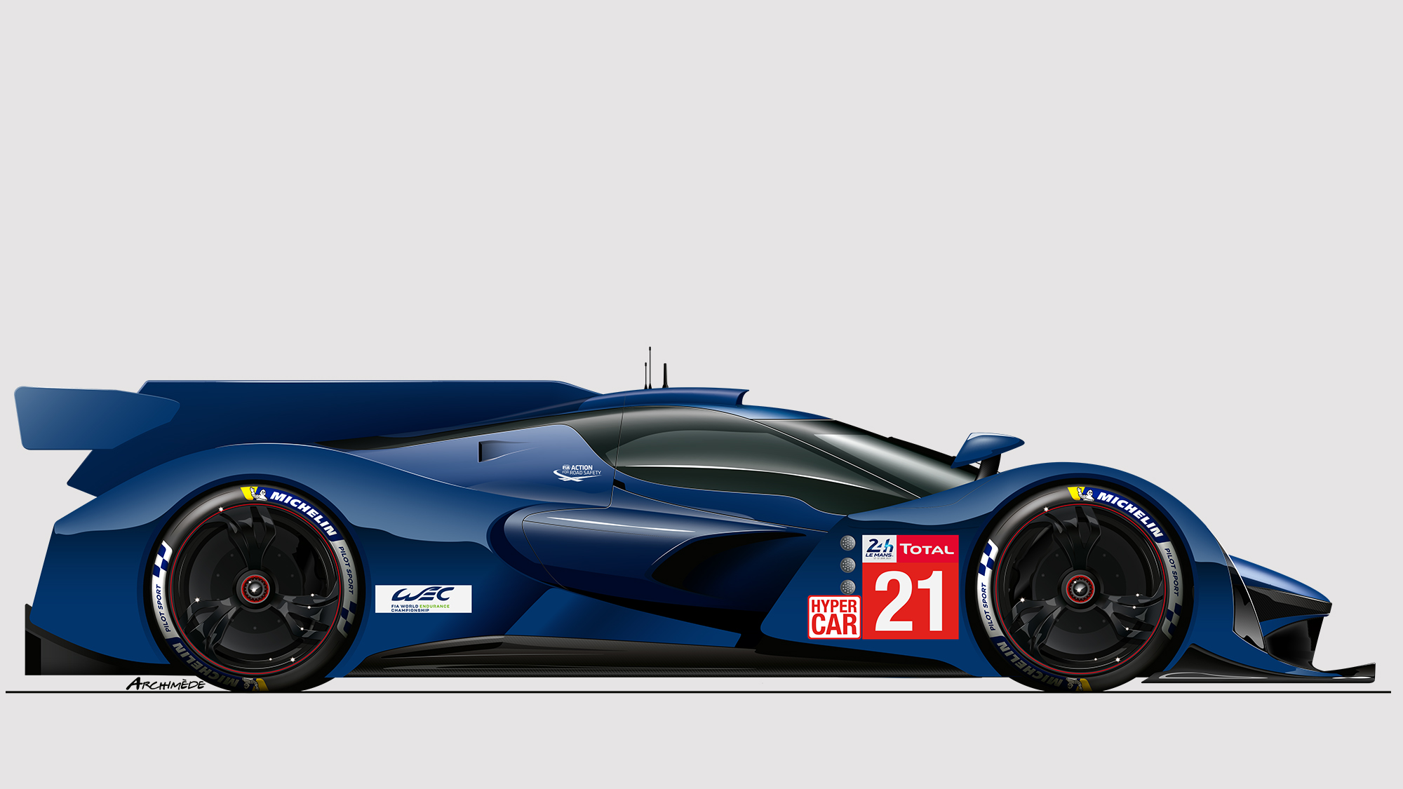 Le Mans Hypercar outline
