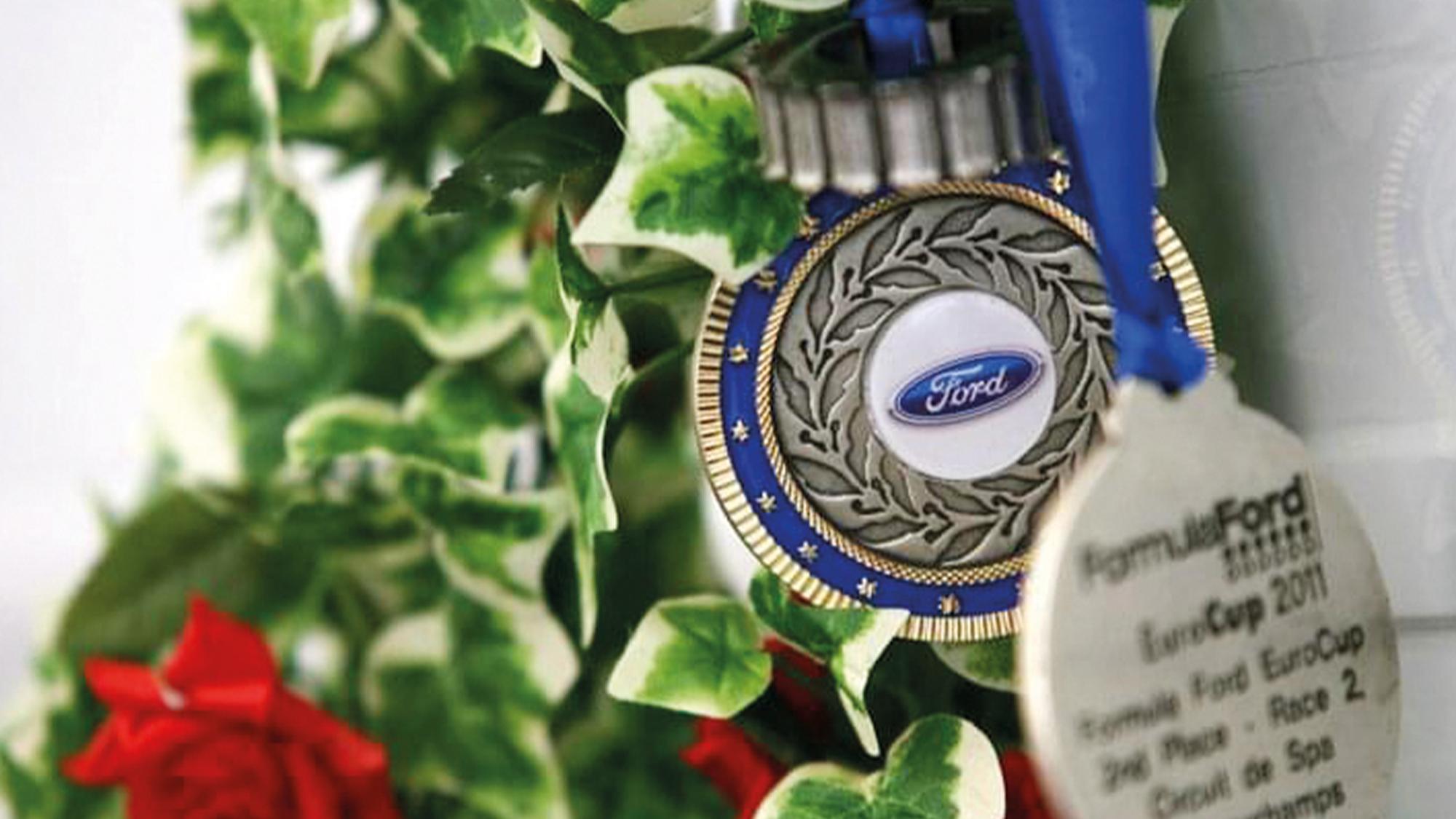 Formula Ford Eurocup medal