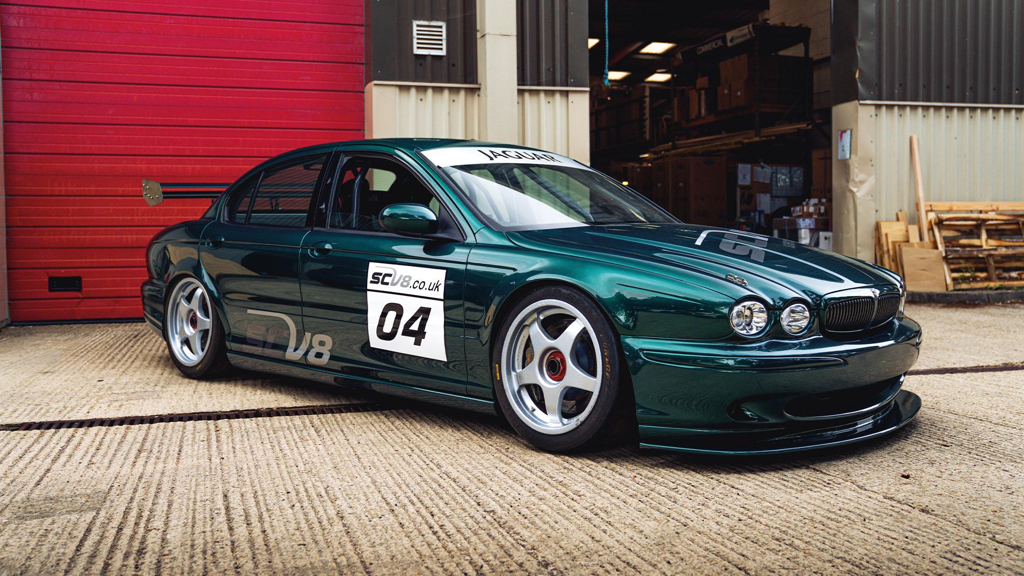 Jaguar X-type SCV8
