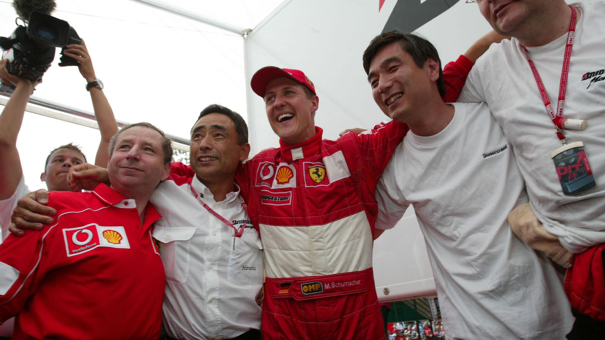 Ferrari Bridgestone