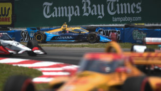 Jimmie Johnson's IndyCar joyride shows just how tough the discipline is