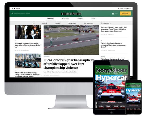F1, Motorsport Magazine Digital