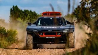 Audi unveils electric prototype for Dakar 2022 assault
