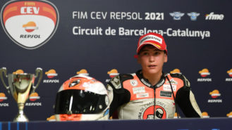 Should 12-year-old kids be allowed to race 130mph grand prix bikes?