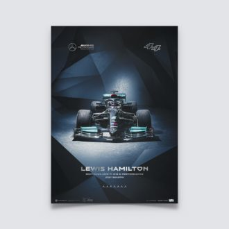 Product image for Mercedes-AMG Petronas F1 Team - Lewis Hamilton - 2021 | Collector's Edition