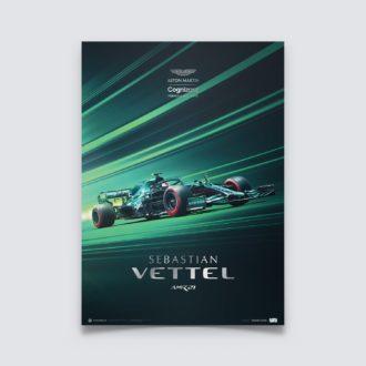 Product image for Aston Martin Cognizant Formula One™ Team - Sebastian Vettel - 2021 | Collector's Edition