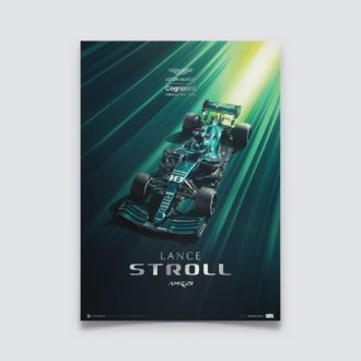 Product image for Aston Martin Cognizant Formula One™ Team - Lance Stroll - 2021 | Collector's Edition