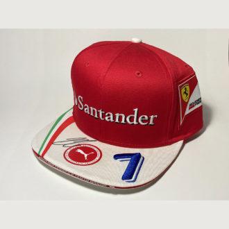 Product image for Kimi Räikkönen signed Ferrari, Formula 1 Cap