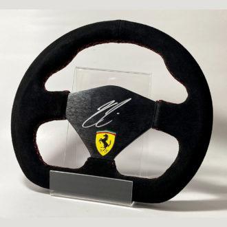 Product image for Kimi Räikkönen signed Racing style Ferrari Steering Wheel