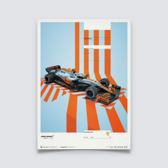 Product image for McLaren x Gulf - Lando Norris - 2021 | Limited Edition