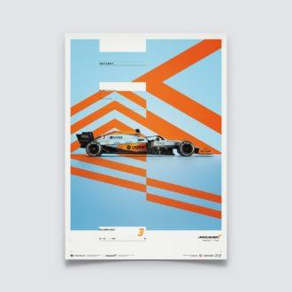 Product image for McLaren x Gulf - Daniel Ricciardo - 2021 | Limited Edition