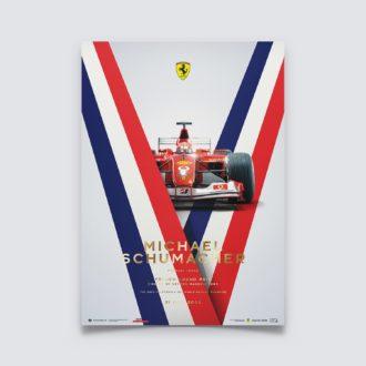 Product image for Ferrari F2002 - Michael Schumacher - French Grand Prix - 2002 | Collector's Edition