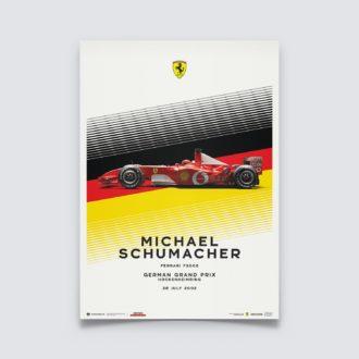 Product image for Ferrari F2002 - Michael Schumacher - German Grand Prix - 2002 | Limited Edition