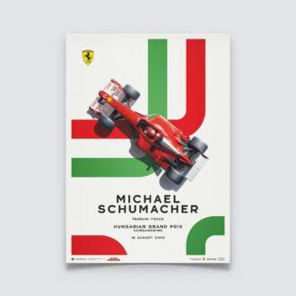 Product image for Ferrari F2002 - Michael Schumacher - Hungarian Grand Prix - 2002 | Limited Edition