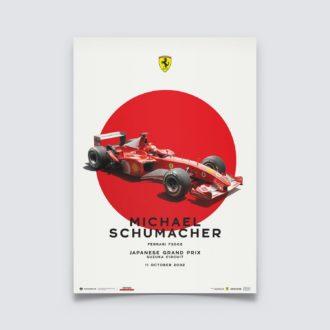 Product image for Ferrari F2002 - Michael Schumacher - Japanese Grand Prix - 2002 | Limited Edition