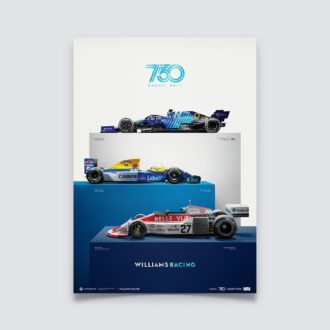 Product image for Williams Racing - 750 Grands Prix | Collector's Edition