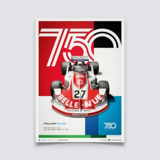 Product image for Williams Racing - March-Ford 761 - 1977 | Limited Edition