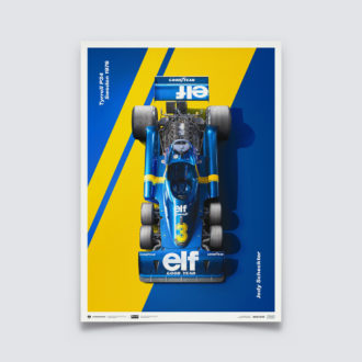 Product image for Tyrrell P34 - Jody Scheckter - Swedish Grand Prix - 1976 | Limited Edition
