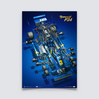 Product image for Tyrrell P34 - The Joy Of Six Wheels | Collector's Edition