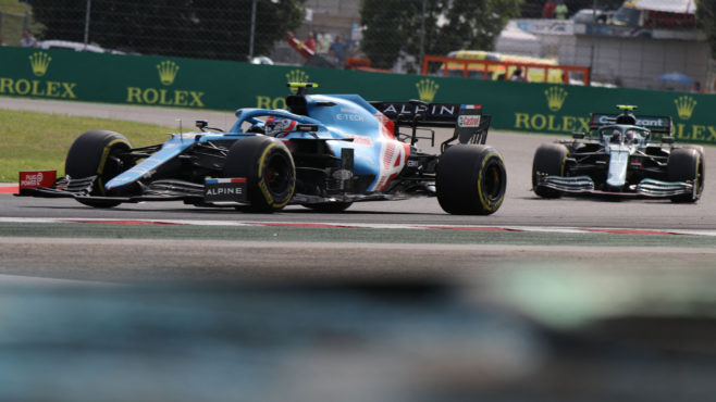 Esteban Ocon dodges chaotic start to win the 2021 Hungarian GP: as it happened