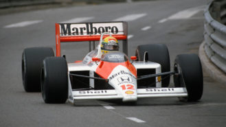'I'm sick of people living off my reputation', says Gordon Murray in McLaren MP4/4 row