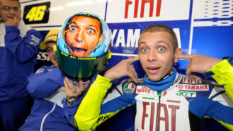 Valentino Rossi: 'I switched on the emotions of normal people'