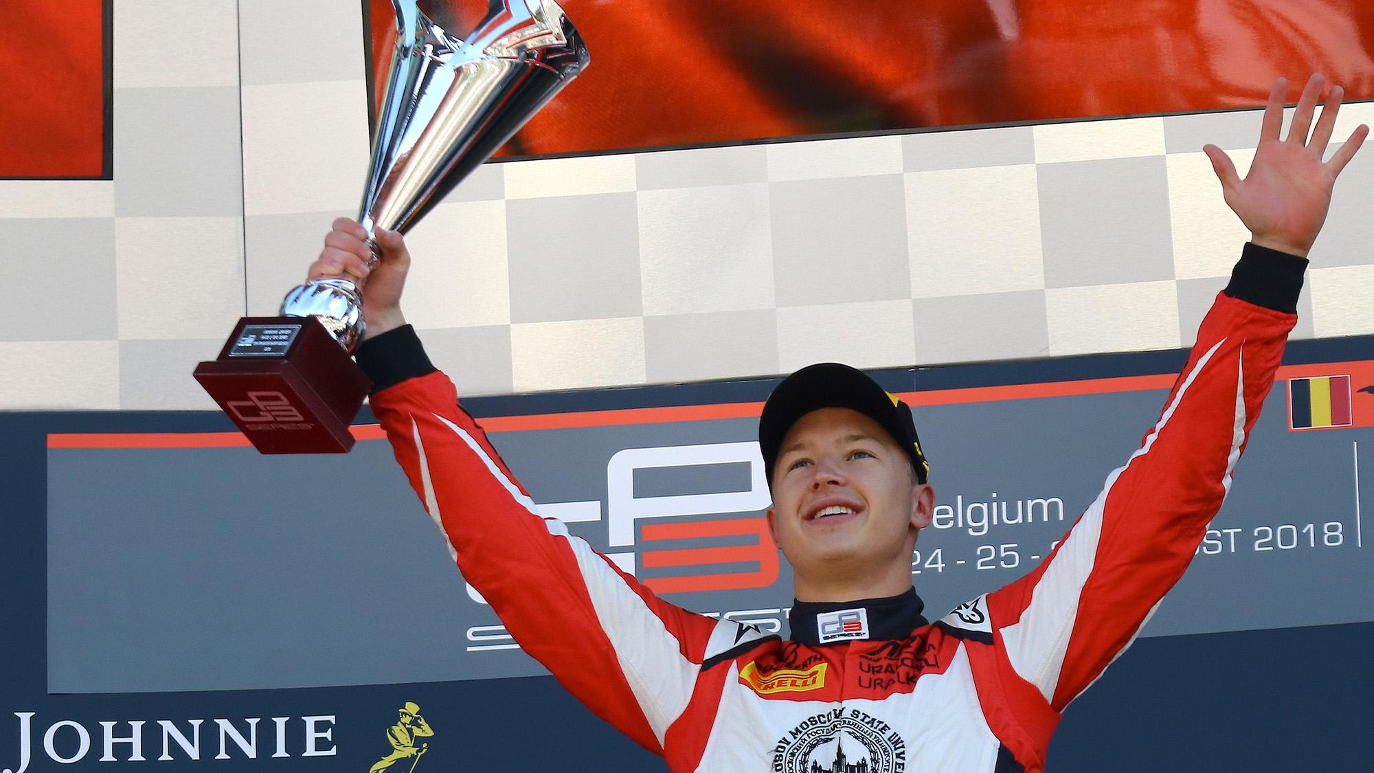 Nikita Mazepin GP3