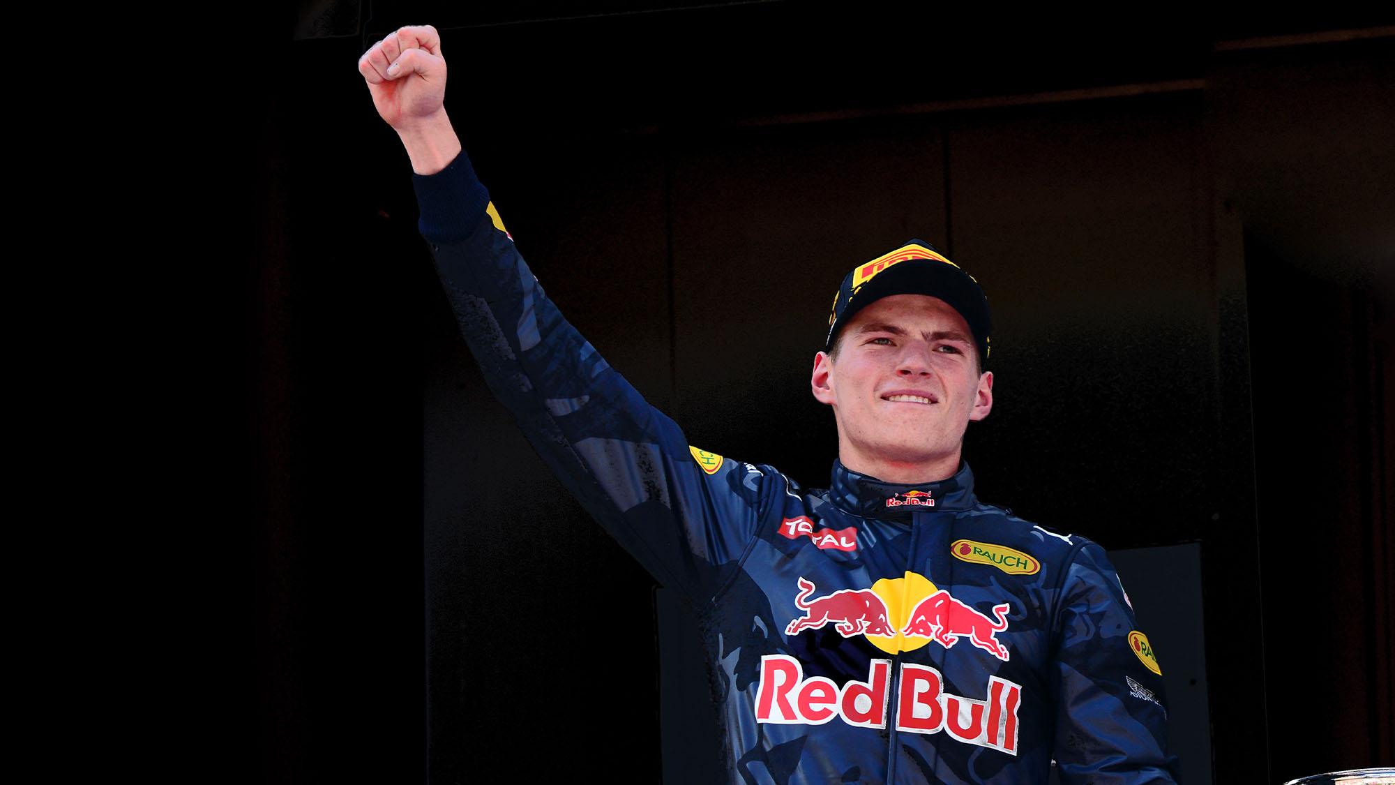 Mx Verstappen Barcelona 2016