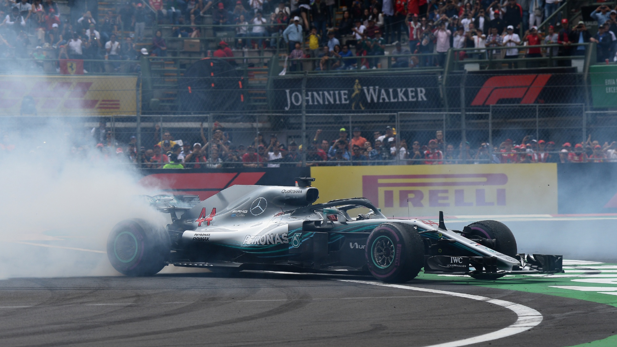 Lewis Hamilton, 2018 Mexican GP