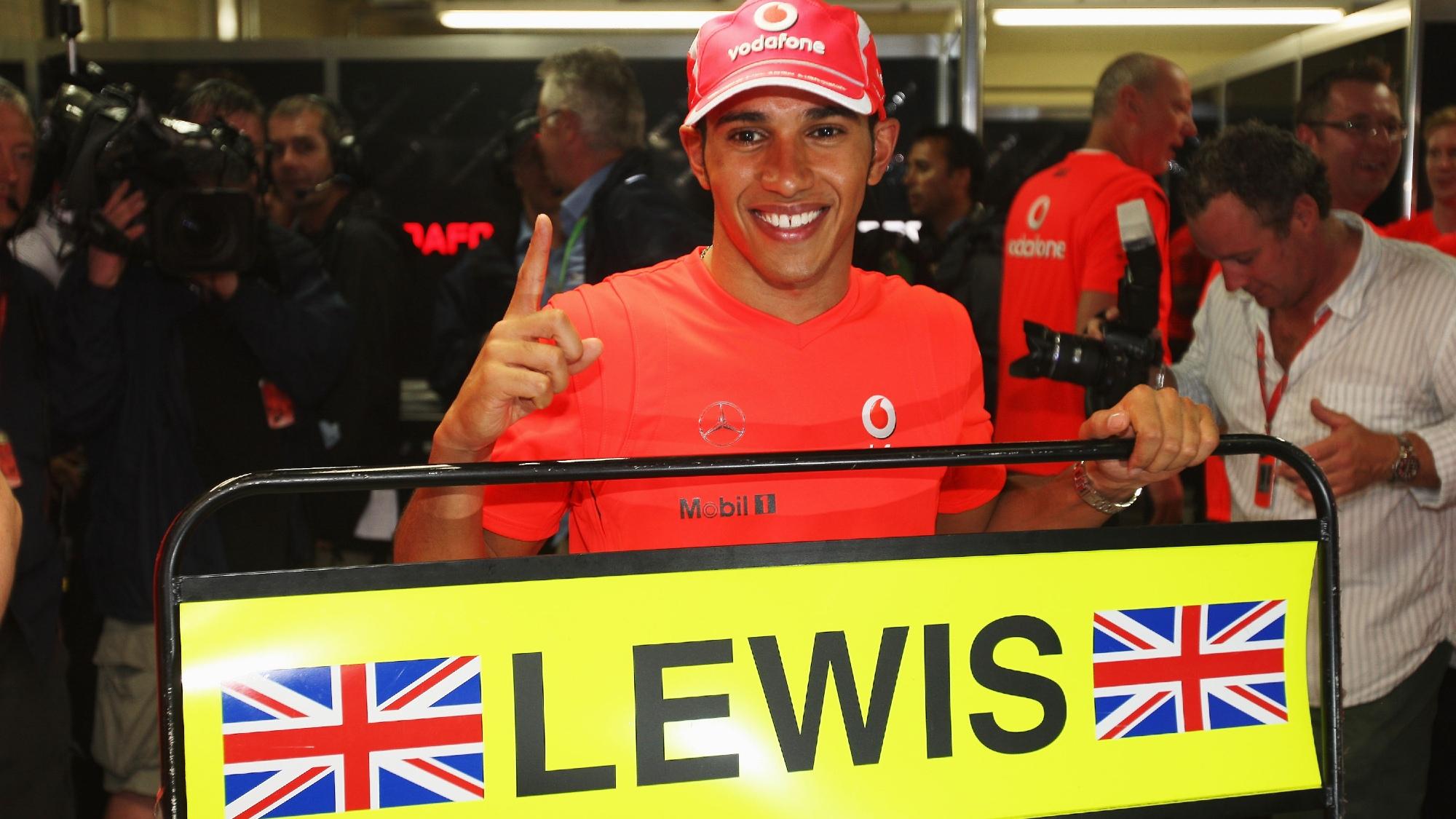 Lewis Hamilton, 2008 Brazilian GP