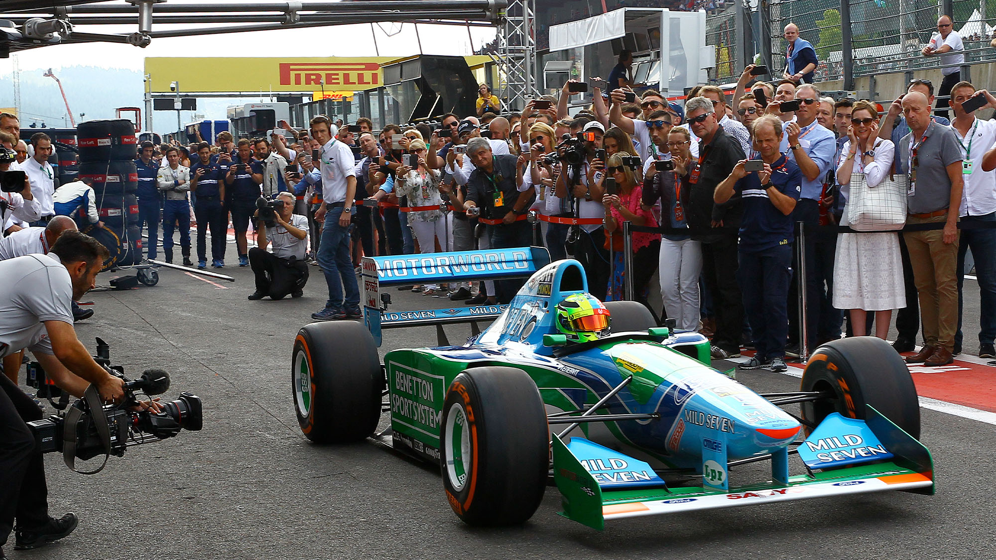 Mick Schumacher Benetton