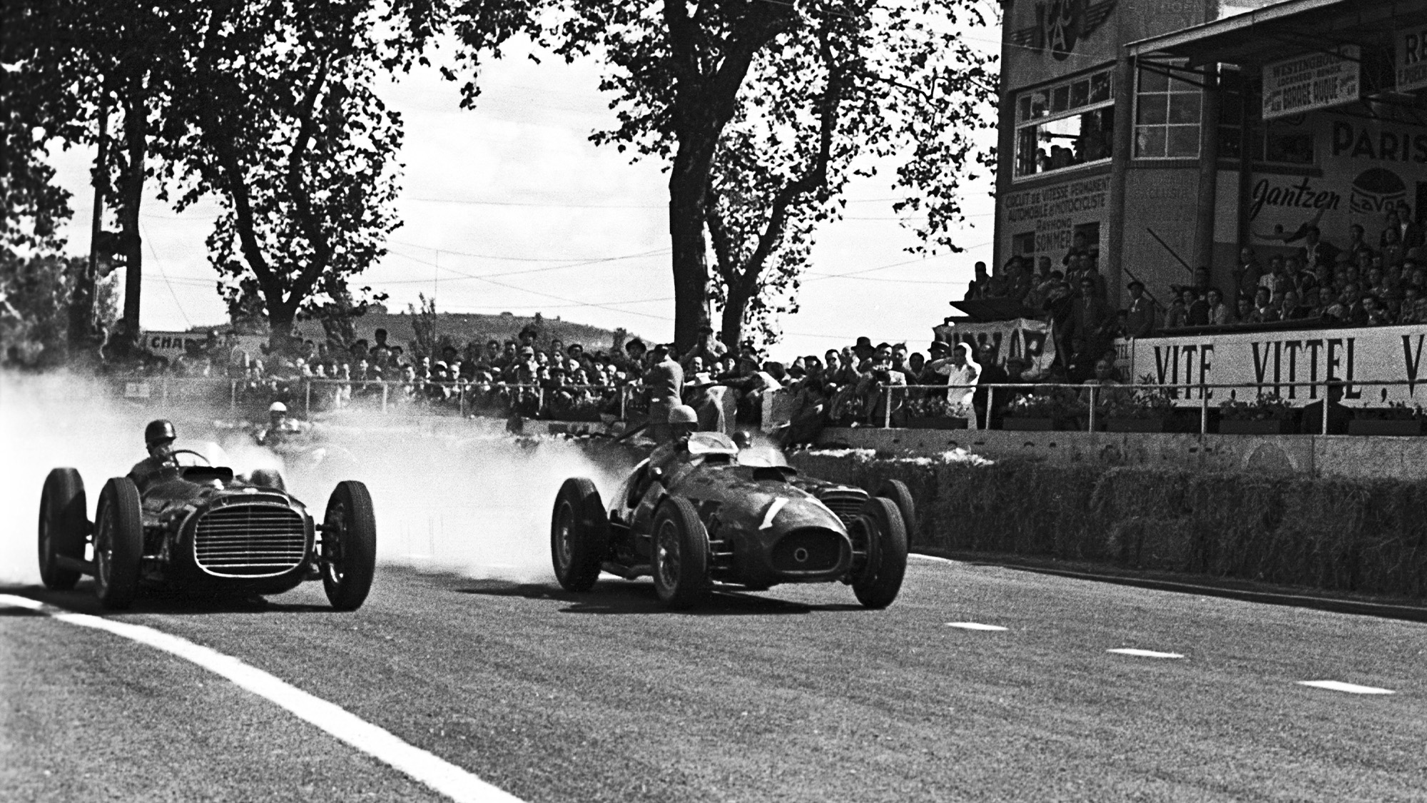 1953 Grand Prix of Albi Fangio and Ascari