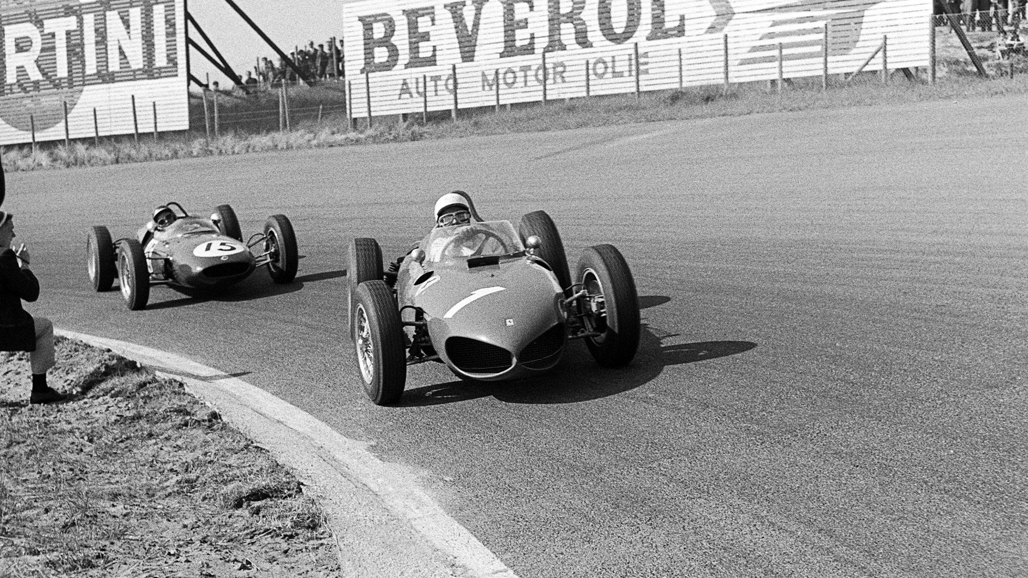 1961 Dutch Grand Prix Phil Hill and Jim Clark