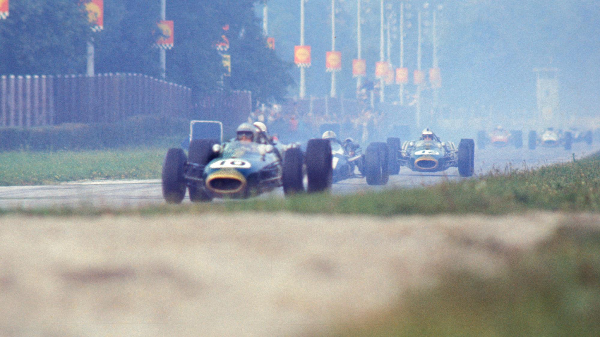 1966 Italian Grand Prix Jack Brabham