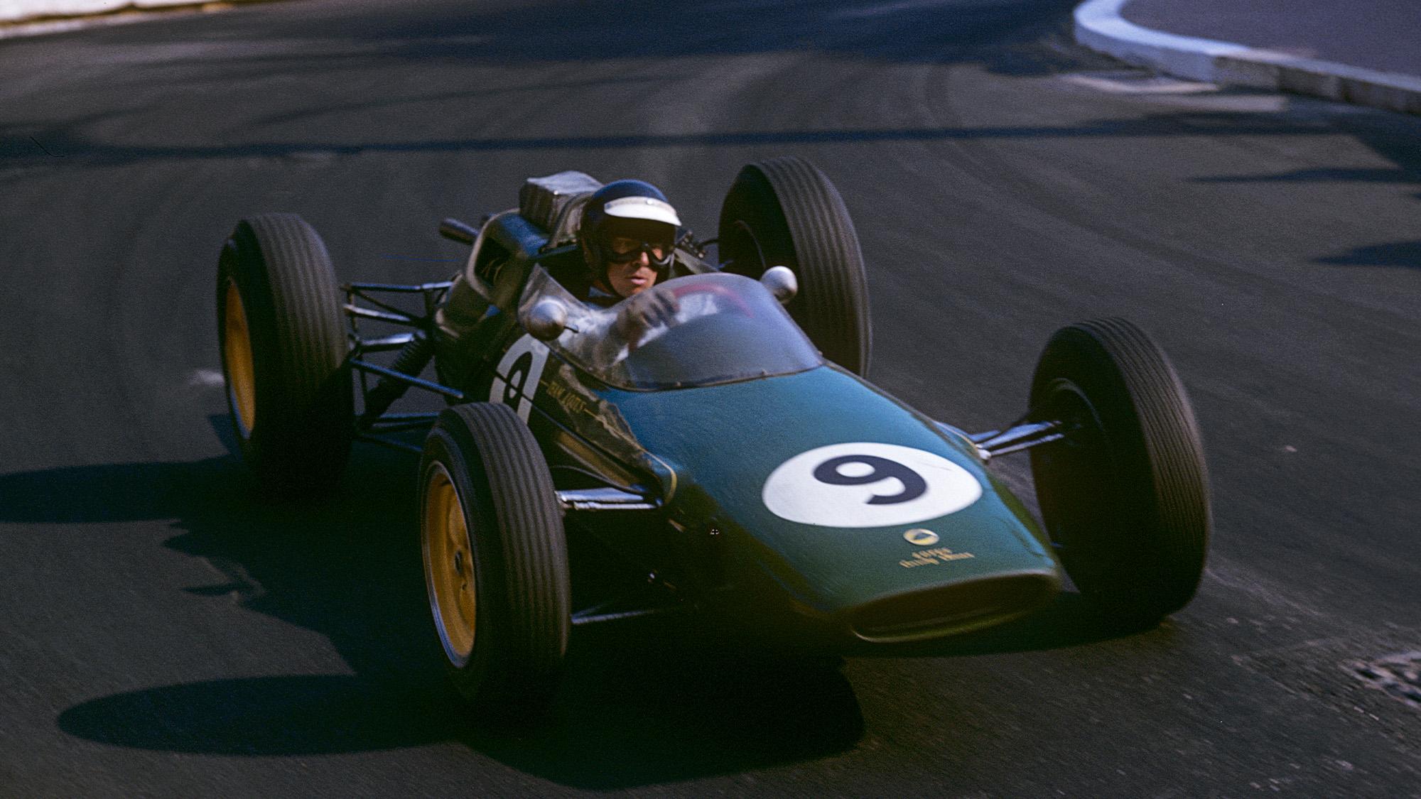1963 Monaco Grand Prix Jim Clark