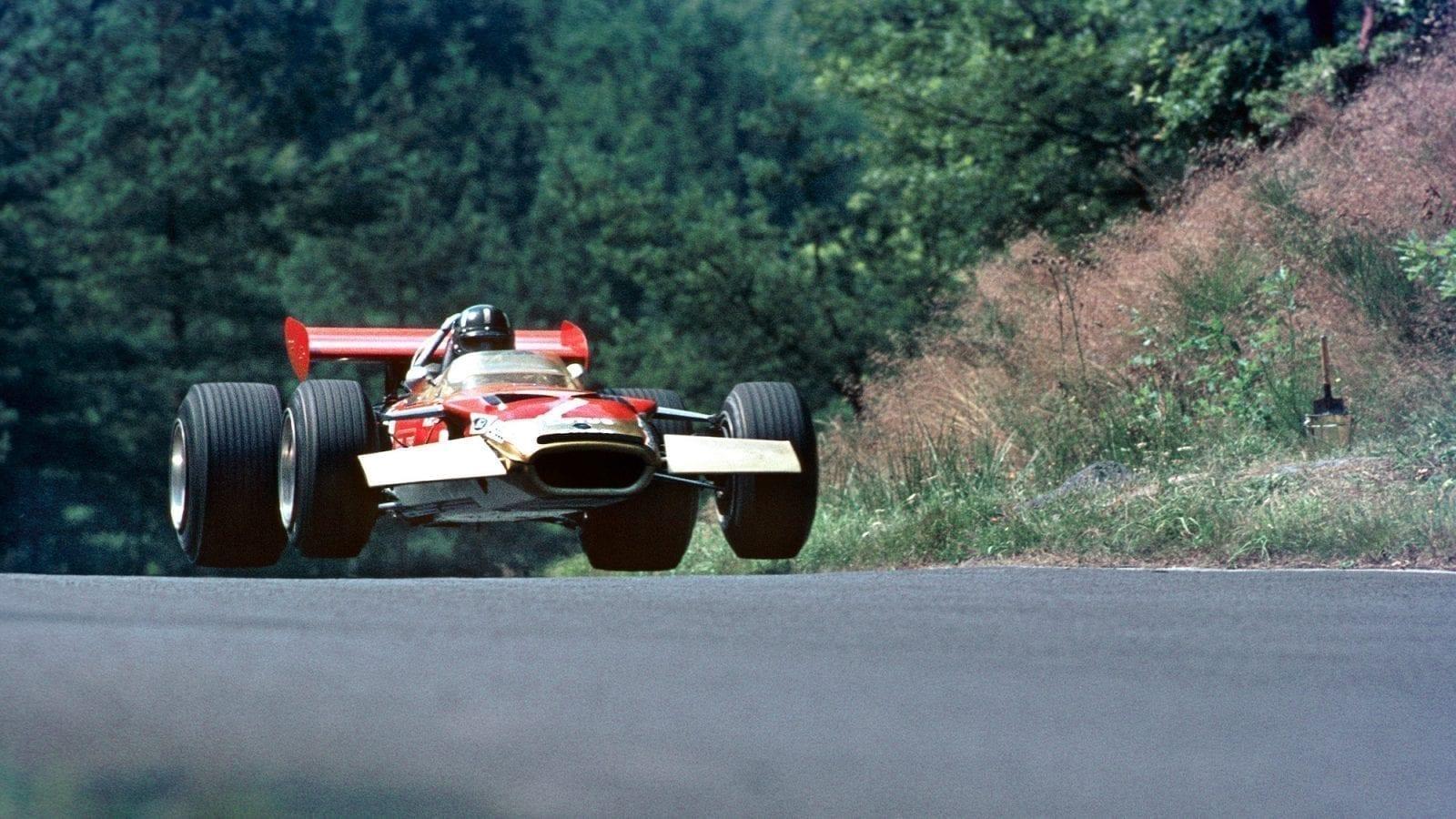 1968 German Grand Prix Graham Hill