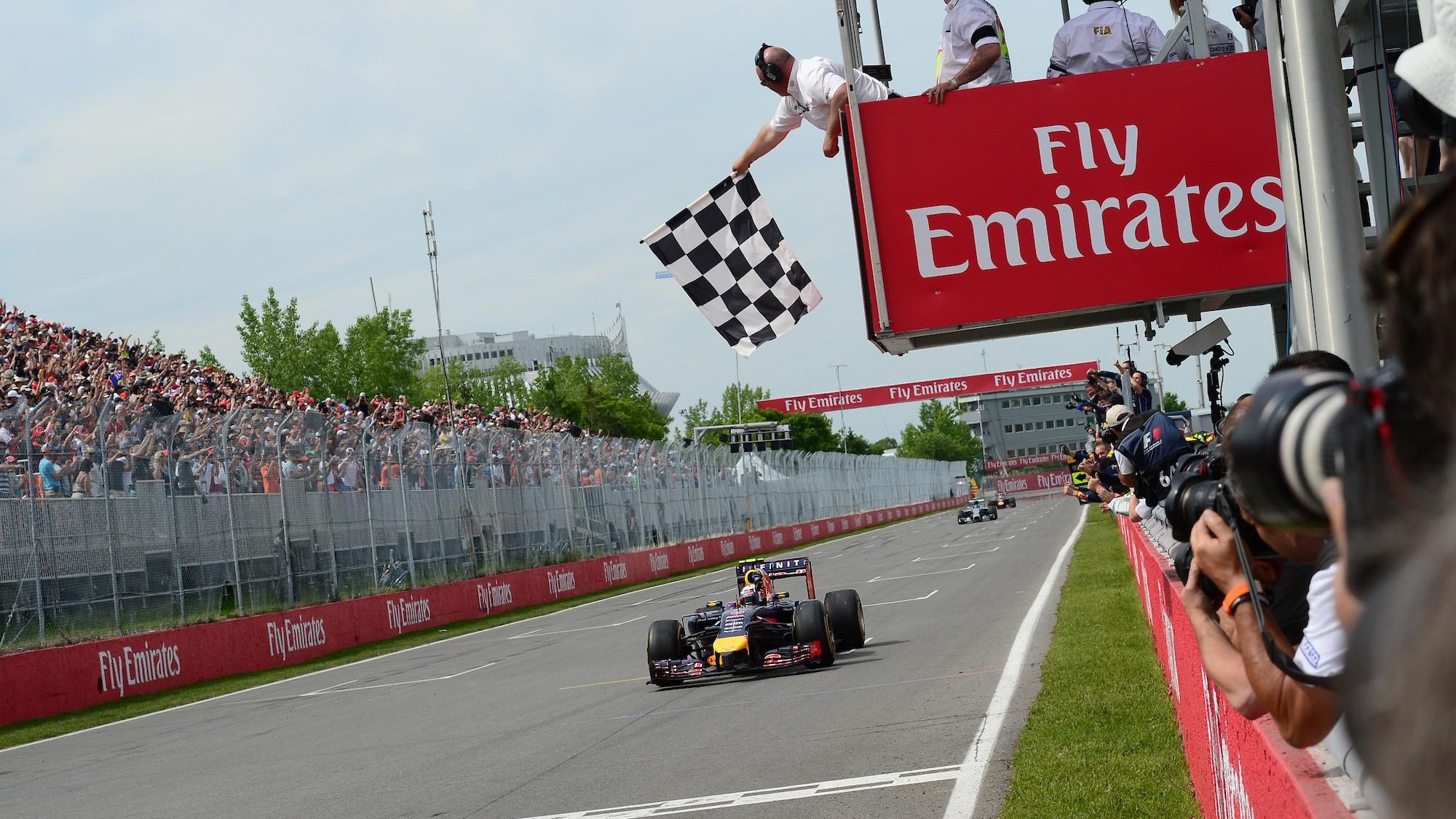 Daniel Ricciardo, 2014 Canadian GP