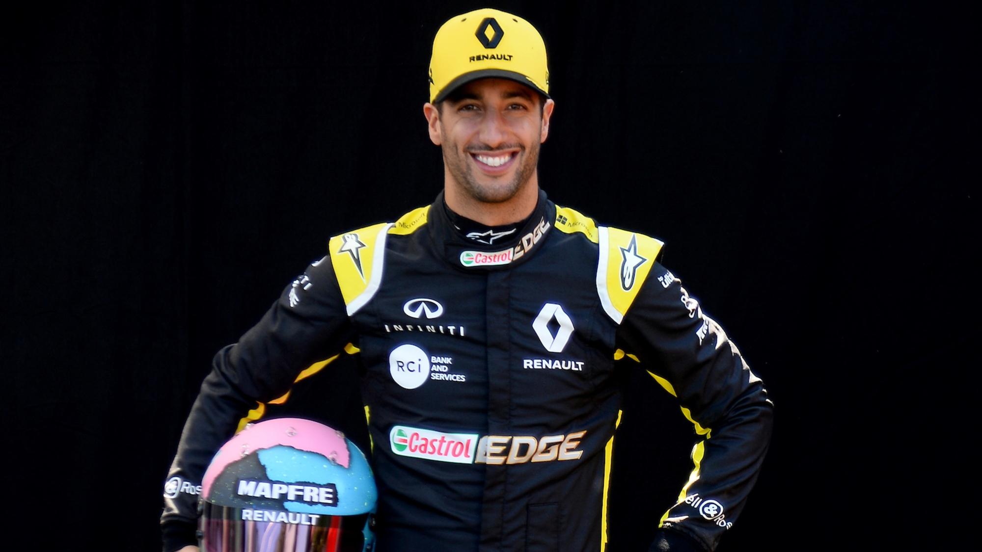 Daniel Ricciardo, 2019 Australian GP