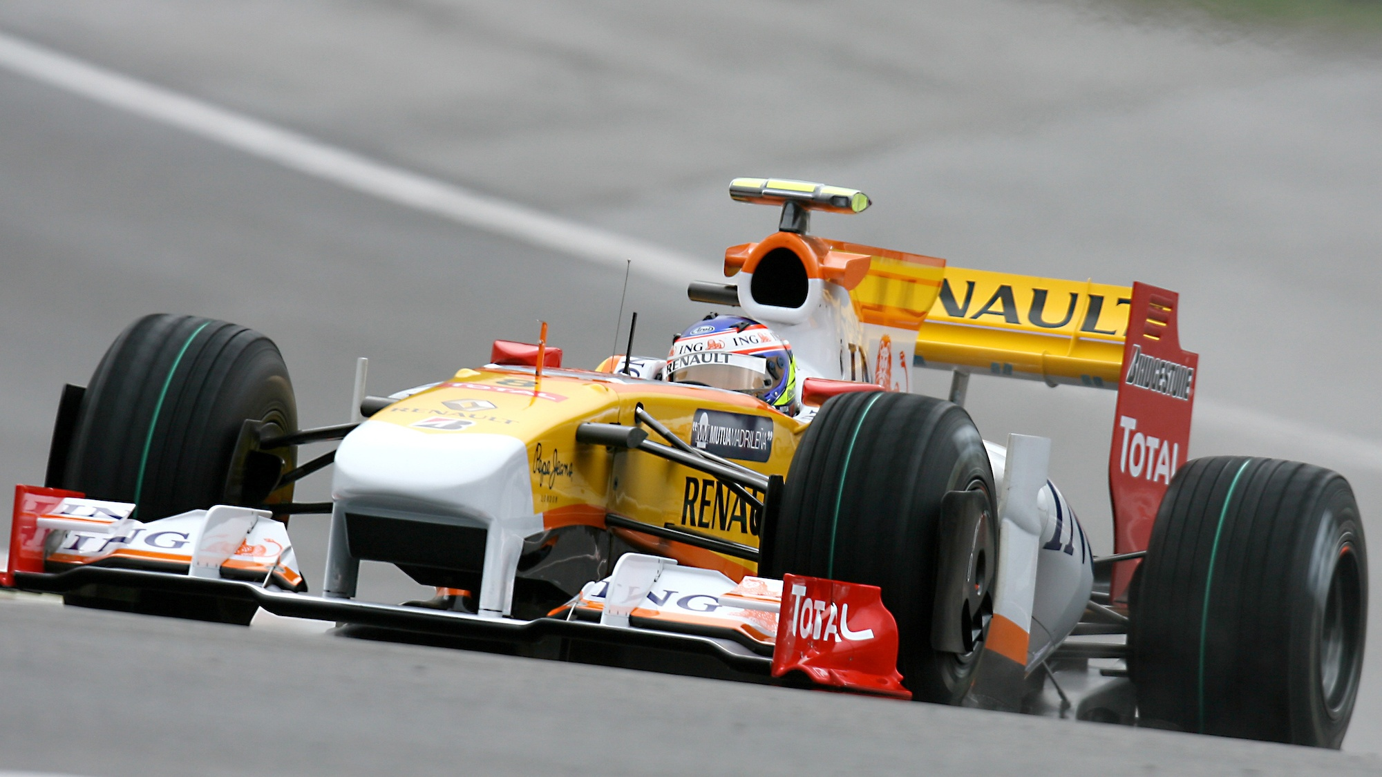Romain Grosjean, 2009 Belgian GP