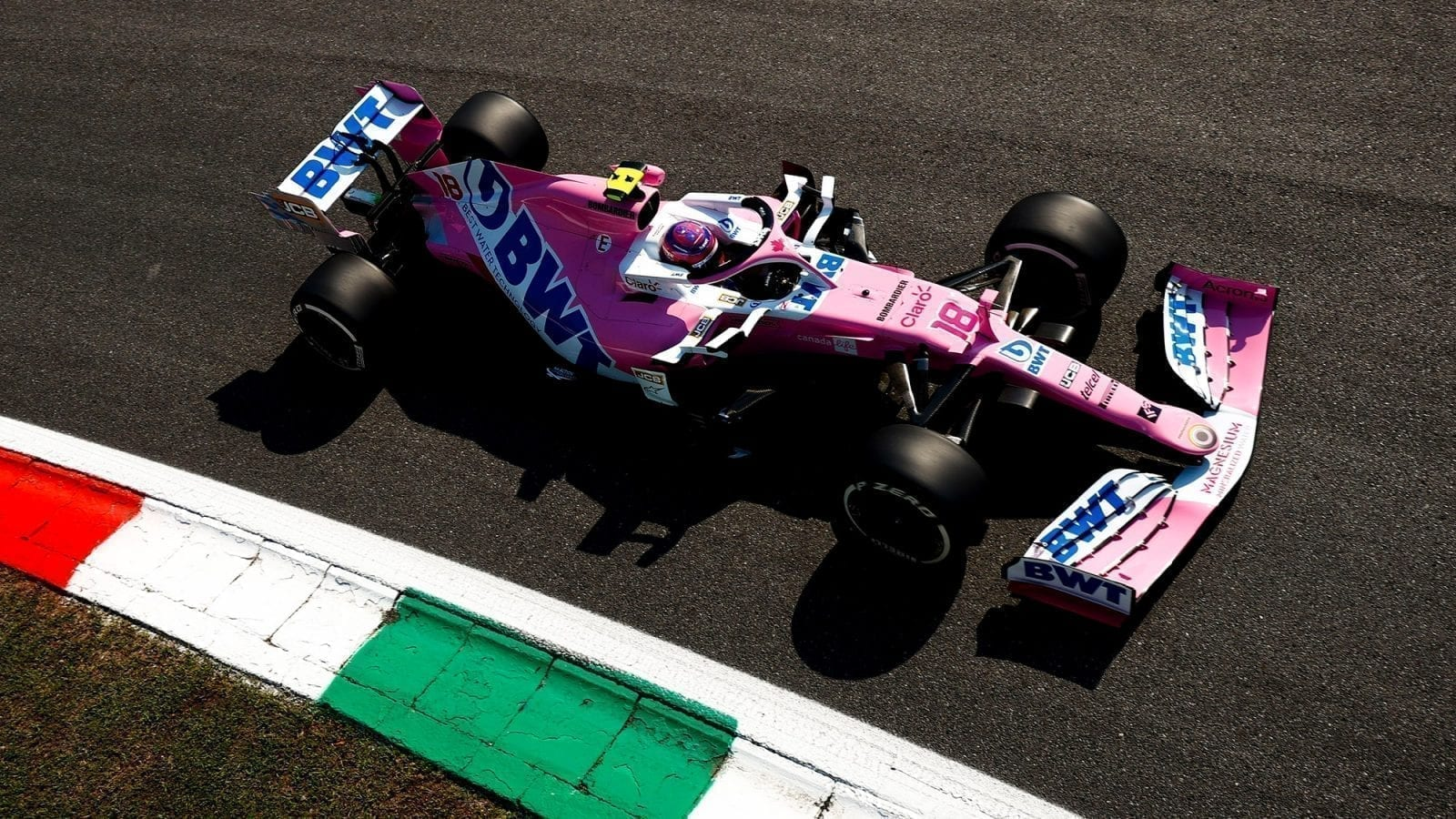 Racing Point Database via team